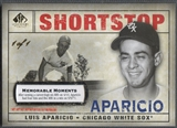 2008 SP Legendary Cuts #162 Luis Aparicio Memorable Moments #1/1