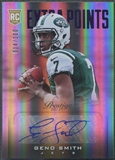 2013 Prestige #234 Geno Smith Extra Points Purple Rookie Auto #014/100
