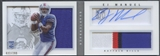 2013 Panini Playbook #209 EJ Manuel Signatures Silver Rookie Patch Auto #022/299