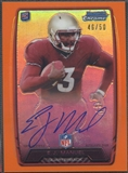 2013 Bowman Chrome #RCRAEM EJ Manuel Orange Refractor Rookie Auto #46/50