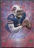 2013 Topps Inception #101 EJ Manuel Red Rookie Auto #07/25
