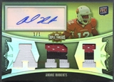 2010 Topps Triple Threads #131 Andre Roberts Platinum Patch Auto #1/1