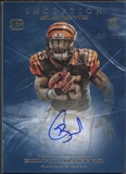 2013 Topps Inception #EAGB Giovani Bernard Elements Fog Rookie Auto #22/25