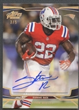 2013 Topps Prime #77 Stevan Ridley Silver Rainbow Auto #3/5