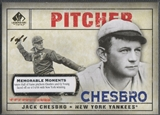 2008 SP Legendary Cuts #179 Jack Chesbro Memorable Moments #1/1