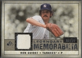 2008 SP Legendary Cuts #RG Ron Guidry Legendary Memorabilia Jersey #09/10