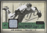 2008 SP Legendary Cuts #JB Jim Bunning Legendary Memorabilia Jersey #04/14