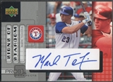 2005 Upper Deck Pros and Prospects #MT Mark Teixeira Signs of Stardom Auto