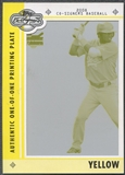 2008 Topps Co-Signers #60 Chin-Lung Hu Rookie Printing Plate Yellow #1/1