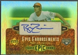 2006 Upper Deck Epic #RZ1 Ryan Zimmerman Epic Endorsements Auto #06/30