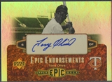 2006 Upper Deck Epic #TO Tony Oliva Epic Endorsements Auto #25/45