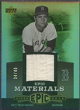 2006 Upper Deck Epic #CY3 Carl Yastrzemski Materials Grey Jersey #34/40
