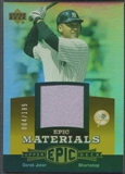 2006 Upper Deck Epic #DJ2 Derek Jeter Materials Orange Jersey #004/185