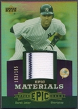 2006 Upper Deck Epic #DJ1 Derek Jeter Materials Dark Purple Jersey #163/185