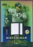 2006 Upper Deck Epic #DJ3 Derek Jeter Materials Blue Jersey #13/99