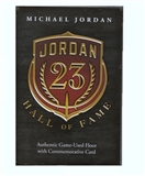 2013 Upper Deck Michael Jordan Game Used Floor & Autographed Employee Card
