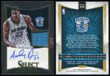 2012/13 Panini Select #270 Anthony Davis Jersey Auto RC 70/149