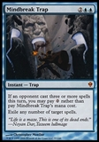 Magic the Gathering Zendikar Single Mindbreak Trap FOIL - NEAR MINT (NM)