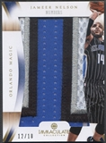 2012/13 Immaculate Collection #JN Jameer Nelson Numbers Patch #12/18