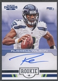 2012 Panini Contenders #23 Russell Wilson Rookie Ink Auto SP /75