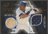 1999 SPx #TG Tony Gwynn Winning Materials Bat Jersey