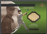 2001 Upper Deck Ovation #CR Cal Ripken A Piece of History Bat