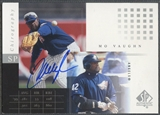 2000 SP Authentic #MV Mo Vaughn Chirography Auto