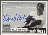 1999 Upper Deck Century Legends #WMC Willie McCovey Epic Signatures Auto
