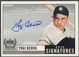 1999 Upper Deck Century Legends #YB Yogi Berra Epic Signatures Auto