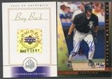 2000 SP Authentic #167 Robin Ventura 1997 SP Authentic Buyback Auto #38/44