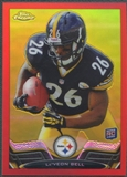 2013 Topps Chrome #198 Le'Veon Bell Rookie Red Refractor #11/25
