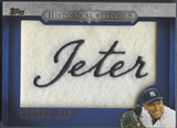 2012 Topps #DJ Derek Jeter Historical Stitches Patch