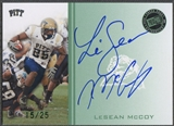 2009 Press Pass #LM LeSean McCoy Green Rookie Auto #15/25