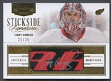 2013-14 Dominion #SSHW Jimmy Howard Stickside Signatures Auto #21/25