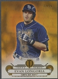 2014 Topps Tribute #56 Evan Longoria Gold #12/25