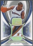 2005/06 SP Game Used #AN Antawn Jamison Authentic Fabrics Patch #17/75