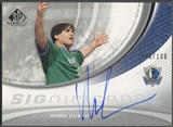 2005/06 SP Game Used #MC Mark Cuban SIGnificance Auto #088/100