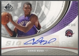 2005/06 SP Game Used #CS Chris Bosh SIGnificance Auto #014/100