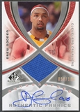 2005/06 SP Game Used #DG Drew Gooden Authentic Fabrics Jersey Auto #058/100