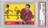 1968/69 O-Pee-Chee Hockey #13 Doug Jarrett PSA 8 (NM-MT) *7597
