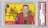 1968/69 O-Pee-Chee Hockey #15 Pat Stapleton PSA 7 (NM) *6555