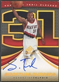 2005/06 SP Game Used #ST Sebastian Telfair Signature Numbers Auto #02/31