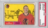 1968/69 O-Pee-Chee Hockey #21 Jim Pappin PSA 7 (NM) *6556