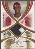 2005/06 SP Game Used #DW Dorell Wright Authentic Fabrics Patch Auto #21/25