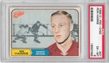 1968/69 O-Pee-Chee Hockey #27 Ron Harris PSA 6 (EX-MT) *7499