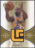 2004/05 SP Game Used #MA Magic Johnson Legendary Fabrics Jersey