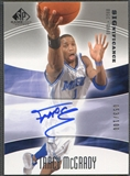 2004/05 SP Game Used #TM Tracy McGrady SIGnificance Auto #053/100