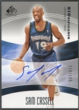 2004/05 SP Game Used #SC Sam Cassell SIGnificance Auto #018/100