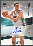 2004/05 SP Game Used #PG Pau Gasol SIGnificance Auto #058/100