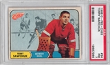 1968/69 O-Pee-Chee Hockey #34 Terry Sawchuk PSA 7 (NM) *7366